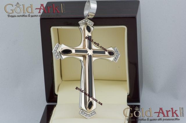 Золотой крест без распятия 91,30