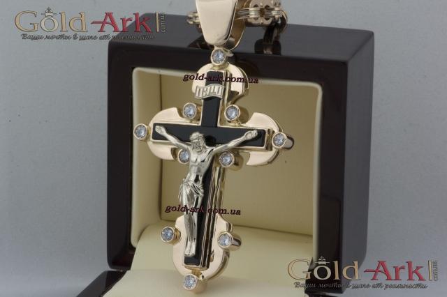 Крест золотой 82.35