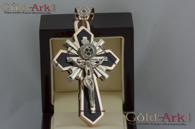 Крест золотой 94.47