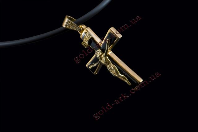 Крест золотой 81.12