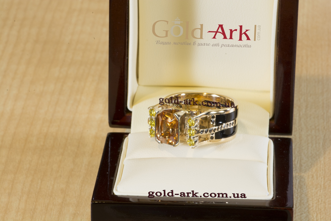 купить Золотой перстень + Раухтопаз,Золотой перстень + Раухтопаз2019 Украина,